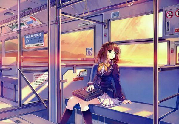 【路線バス】バス車内のエロかったりエロくなかったりな二次画像【観光バス】【18】