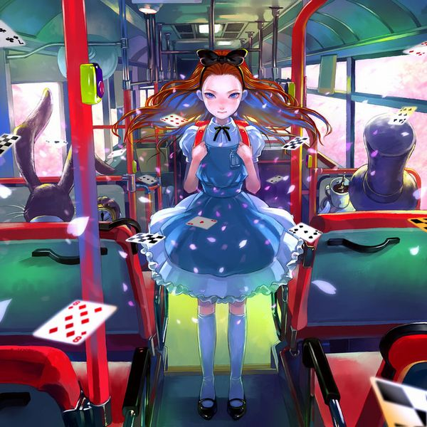 【路線バス】バス車内のエロかったりエロくなかったりな二次画像【観光バス】【36】