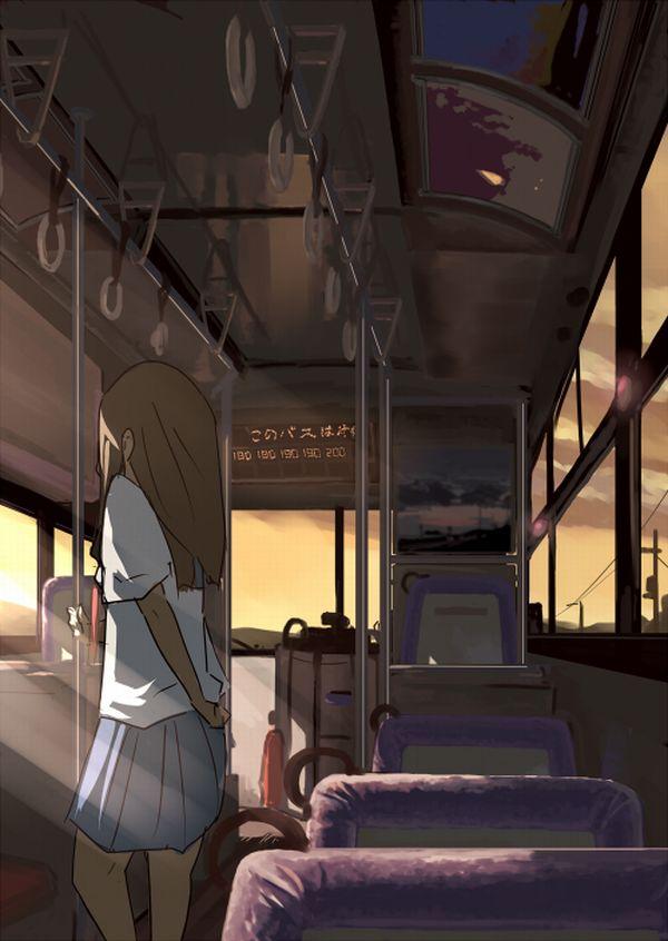 【路線バス】バス車内のエロかったりエロくなかったりな二次画像【観光バス】【39】