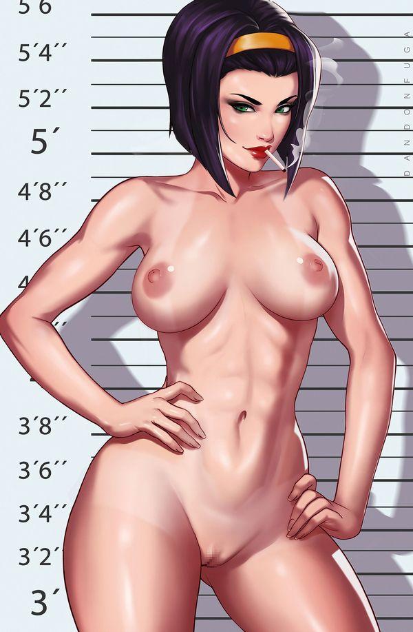 【事後の一服】裸でタバコ吸ってる女子の二次エロ画像【7】