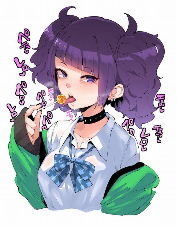【ロリポップ】チュッパチャップス的なキャンディーを舐めてる女の子達の二次画像【20】