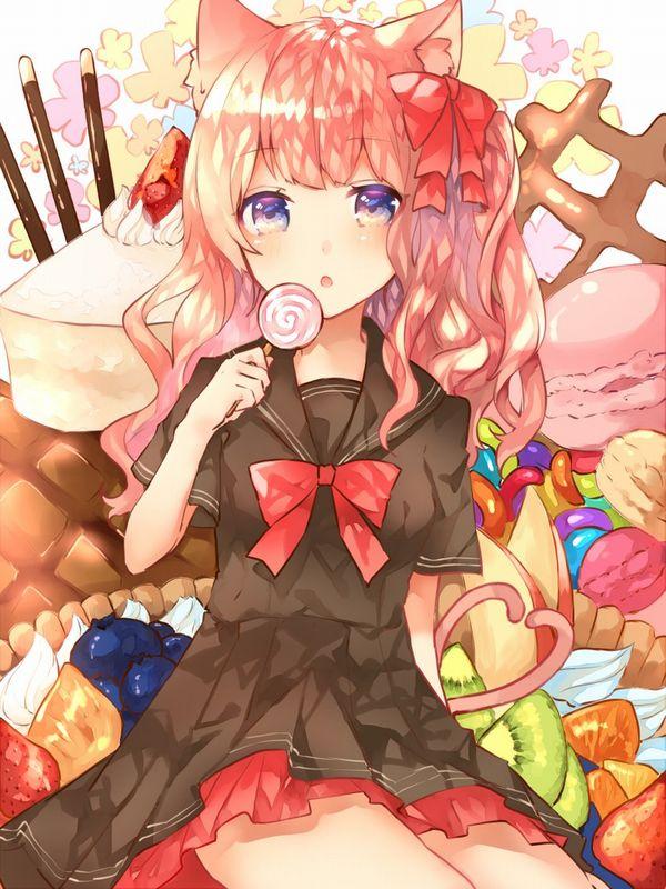 【ロリポップ】チュッパチャップス的なキャンディーを舐めてる女の子達の二次画像【31】