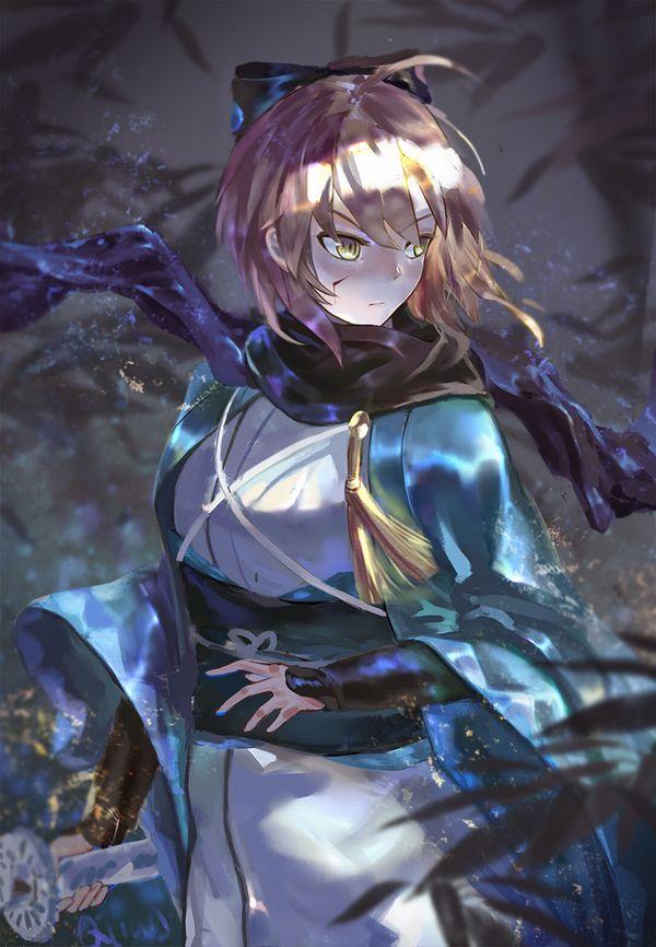 【Fate/GrandOrder】桜セイバーこと沖田総司(おきたそうじ)のエロ画像【40】