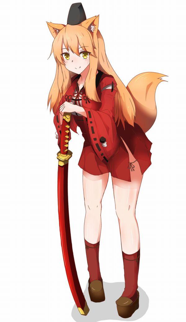 【Fate/GrandOrder】JKセイバーこと鈴鹿御前(すずかごぜん)のエロ画像【27】