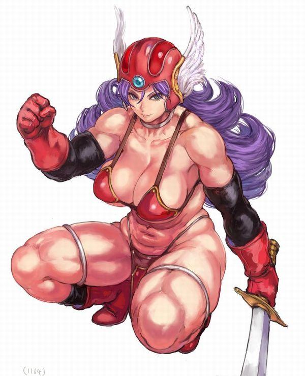 【見ろやこの筋肉!!】力こぶを自慢する女の子達の二次エロ画像【カッチカチやぞ!!】【40】