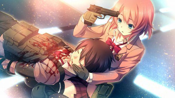 【ペルソナ!?】自分の頭を銃で撃ってる女の子達の二次画像【1】