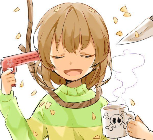 【ペルソナ!?】自分の頭を銃で撃ってる女の子達の二次画像【25】