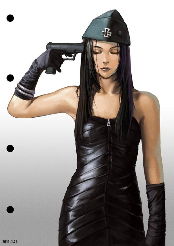 【ペルソナ!?】自分の頭を銃で撃ってる女の子達の二次画像【30】