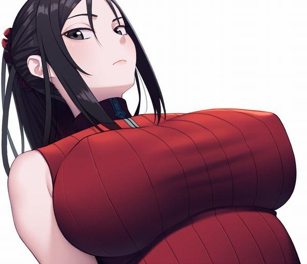 【欧米か!?】乳首の突起がモロ分かりな着衣ノーブラ女子の二次エロ画像【16】