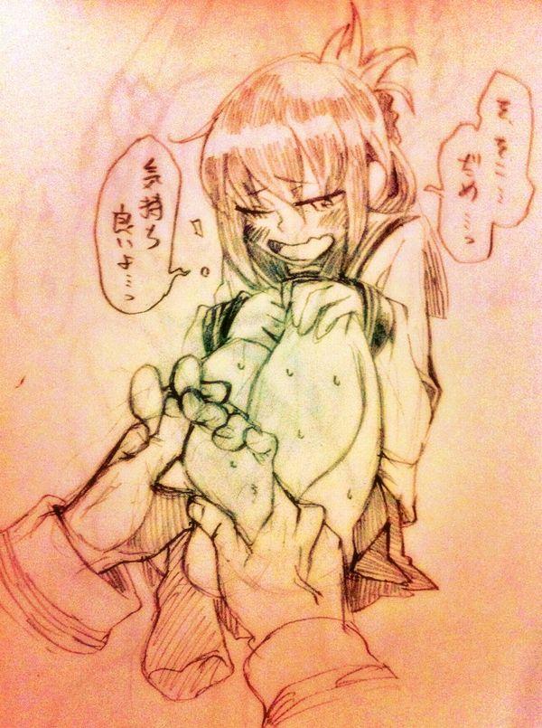 【ここ押されて痛かったら】足ツボマッサージ受けてる女子の二次エロ画像【カスです】【28】