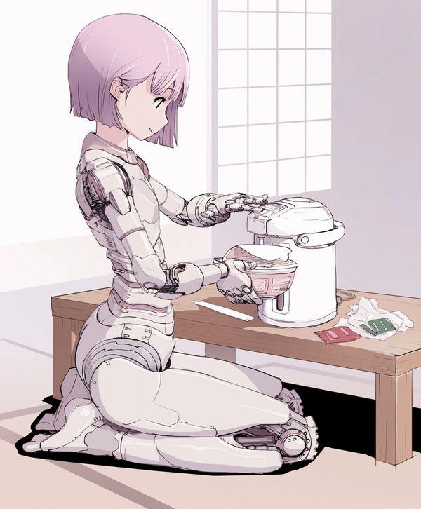 【お昼ご飯の定番】カップラーメン食べてる女子達のエロ画像【29】