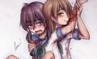【暴力こそ】なんでも暴力で解決するメルエム系女子の二次エロ画像【この世で最も強い能力!】