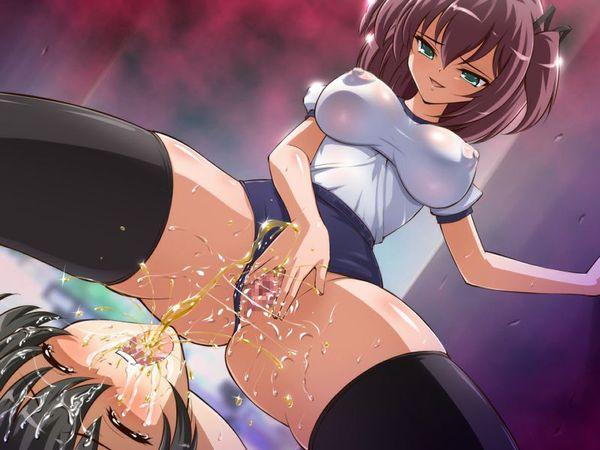 【真夏の水分補給】美少女達のしょんべんで喉を潤してる飲尿系二次エロ画像【28】