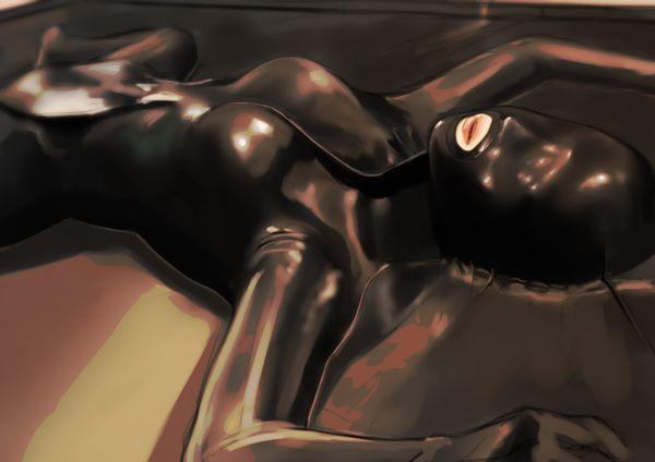【バキュームベッド】真空パックされてる女の子たちの二次エロ画像【5】