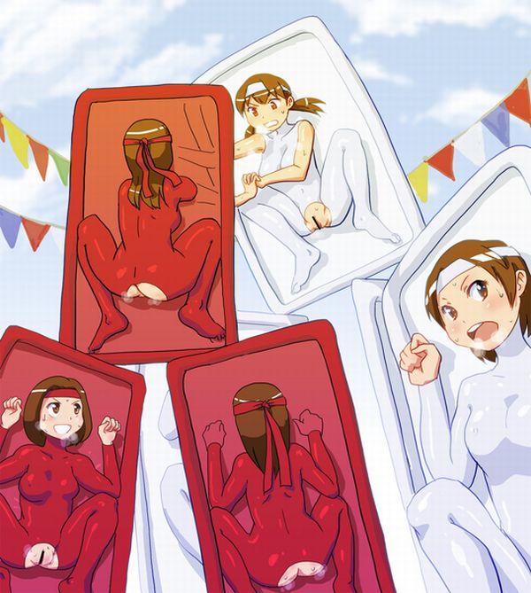 【バキュームベッド】真空パックされてる女の子たちの二次エロ画像【11】