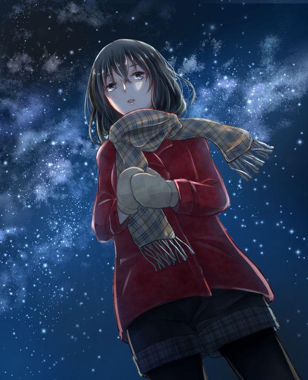 【starrysky】星空と女の子の幻想的な二次画像【IKUZO要素は無い】【5】
