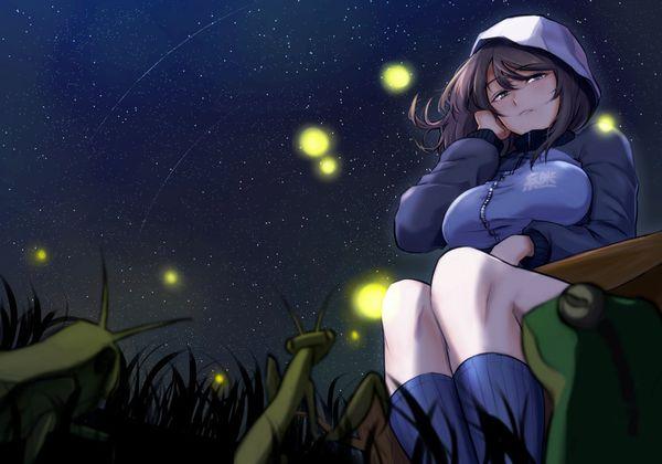 【starrysky】星空と女の子の幻想的な二次画像【IKUZO要素は無い】【7】