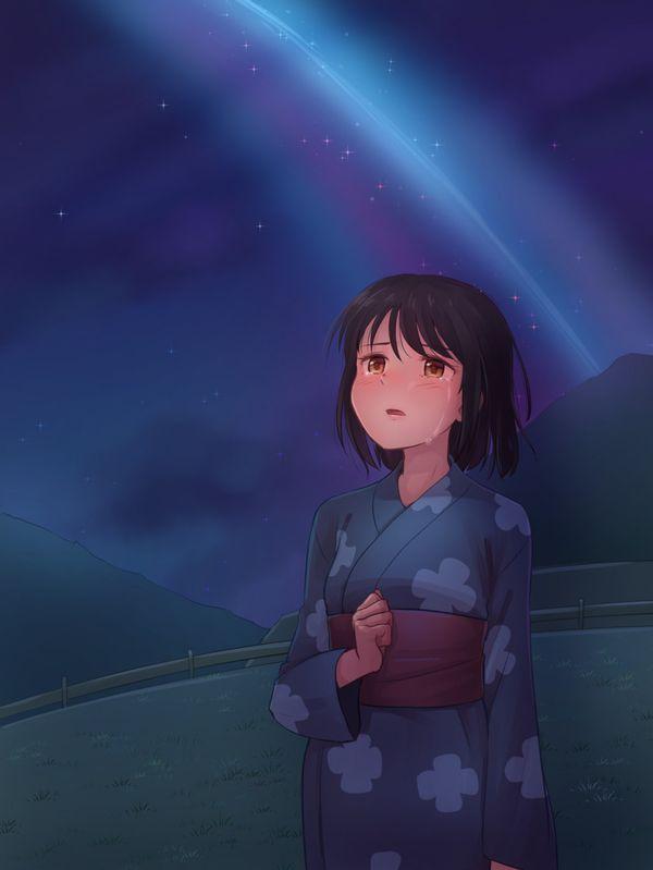 【starrysky】星空と女の子の幻想的な二次画像【IKUZO要素は無い】【8】