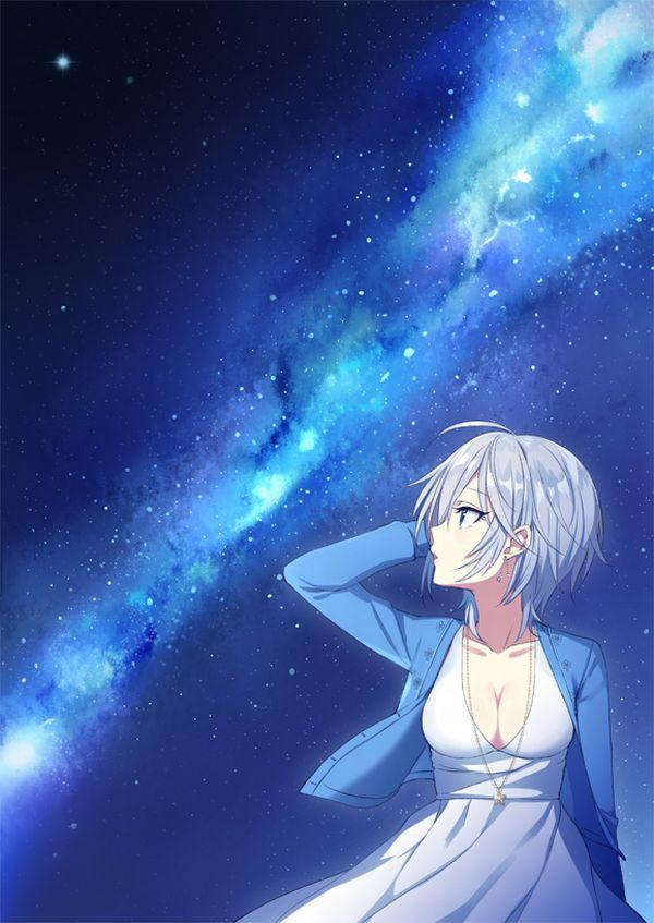 【starrysky】星空と女の子の幻想的な二次画像【IKUZO要素は無い】【12】