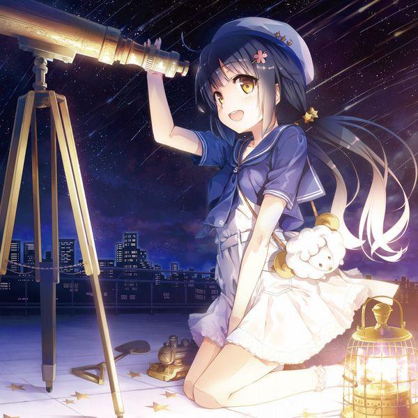 【starrysky】星空と女の子の幻想的な二次画像【IKUZO要素は無い】【13】