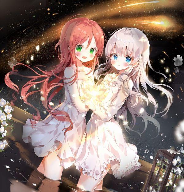 【starrysky】星空と女の子の幻想的な二次画像【IKUZO要素は無い】【14】