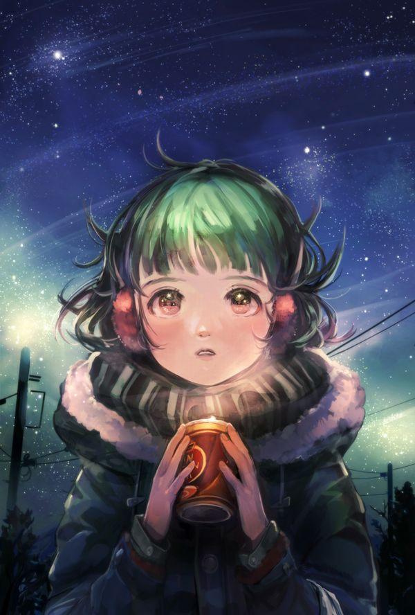 【starrysky】星空と女の子の幻想的な二次画像【IKUZO要素は無い】【15】