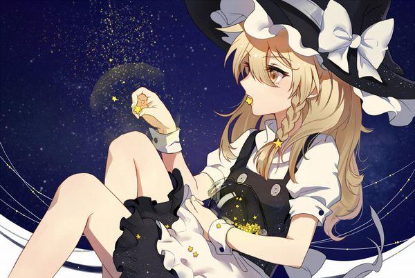 【starrysky】星空と女の子の幻想的な二次画像【IKUZO要素は無い】【23】