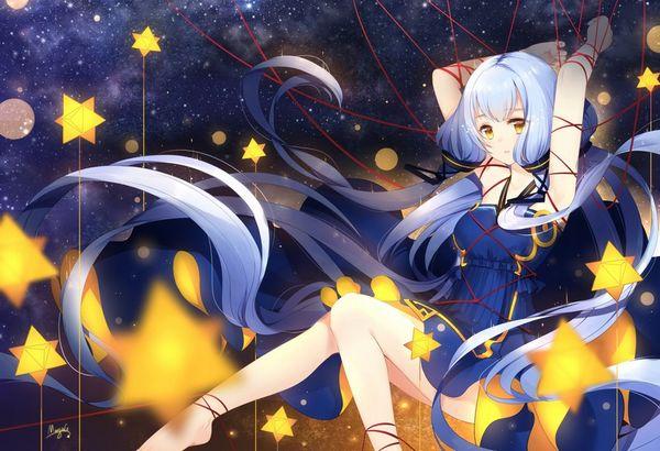 【starrysky】星空と女の子の幻想的な二次画像【IKUZO要素は無い】【25】