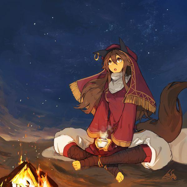 【starrysky】星空と女の子の幻想的な二次画像【IKUZO要素は無い】【26】