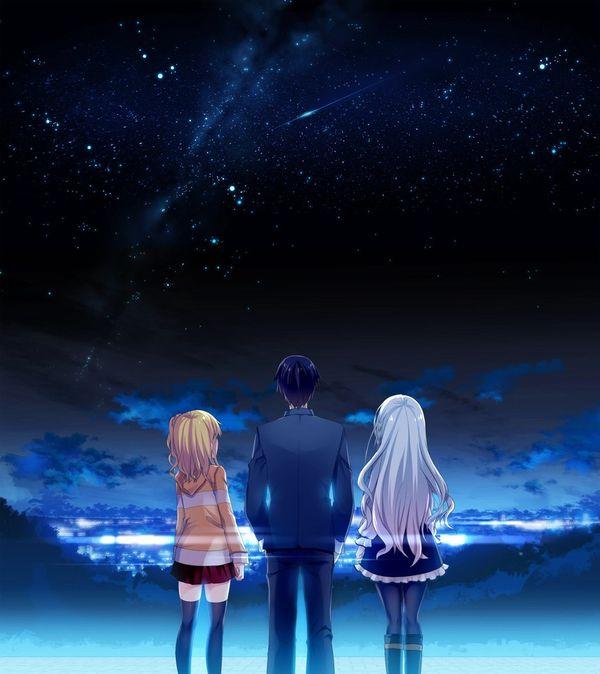 【starrysky】星空と女の子の幻想的な二次画像【IKUZO要素は無い】【37】