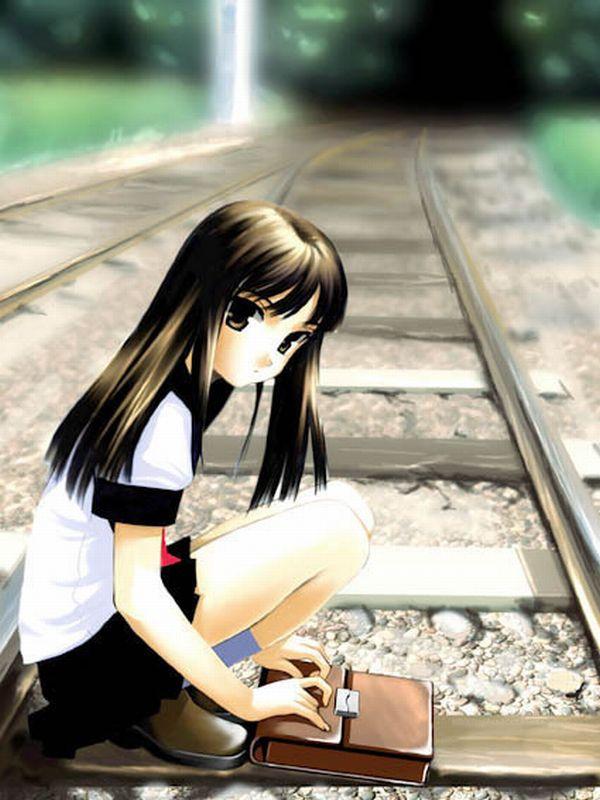 【スタンドバイミー】線路の上を歩く女の子達の二次画像【松本伊代】【5】