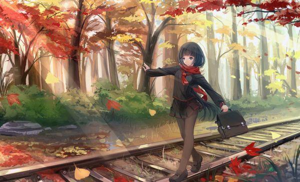 【スタンドバイミー】線路の上を歩く女の子達の二次画像【松本伊代】【9】