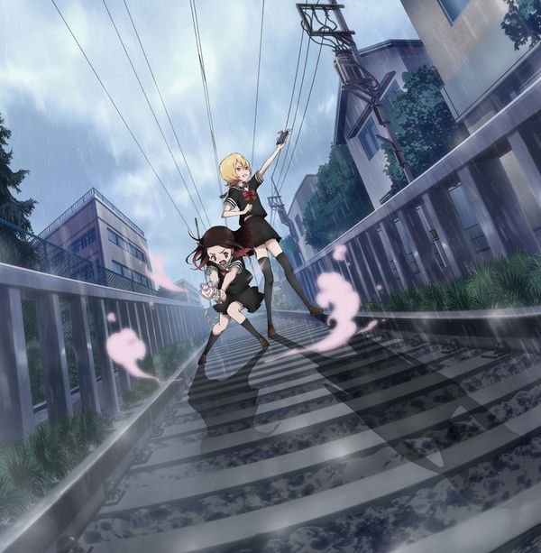 【スタンドバイミー】線路の上を歩く女の子達の二次画像【松本伊代】【10】