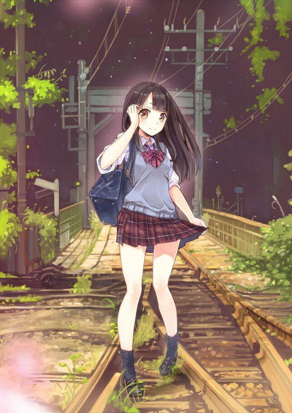 【スタンドバイミー】線路の上を歩く女の子達の二次画像【松本伊代】【12】