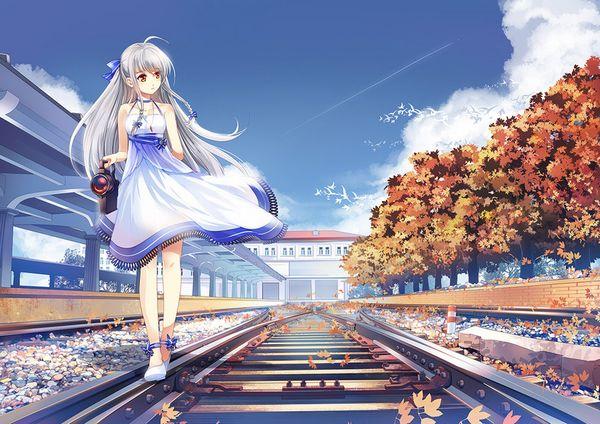 【スタンドバイミー】線路の上を歩く女の子達の二次画像【松本伊代】【25】