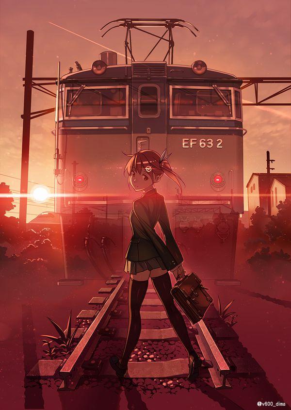 【スタンドバイミー】線路の上を歩く女の子達の二次画像【松本伊代】【34】