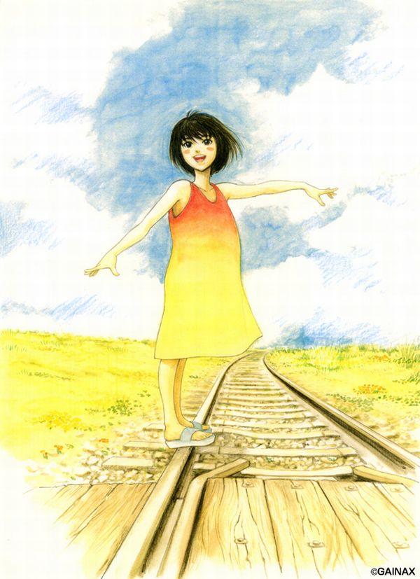【スタンドバイミー】線路の上を歩く女の子達の二次画像【松本伊代】【36】