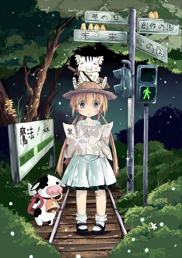 【スタンドバイミー】線路の上を歩く女の子達の二次画像【松本伊代】【38】