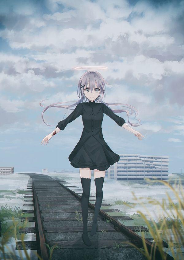 【スタンドバイミー】線路の上を歩く女の子達の二次画像【松本伊代】【39】