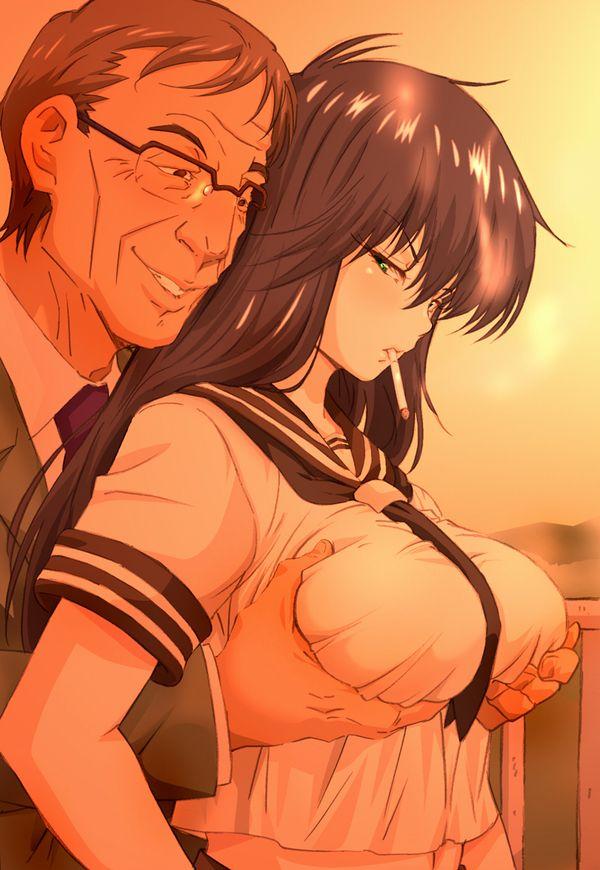 【あそぶんだ、おじさんと!】オッサンと少女が性行為をしている二次エロ画像【6】