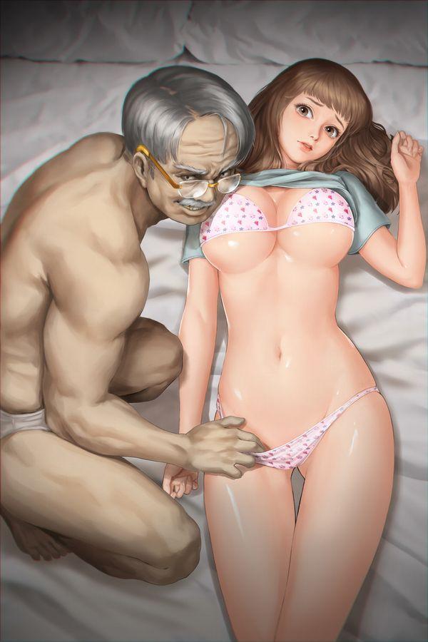 【あそぶんだ、おじさんと!】オッサンと少女が性行為をしている二次エロ画像【8】