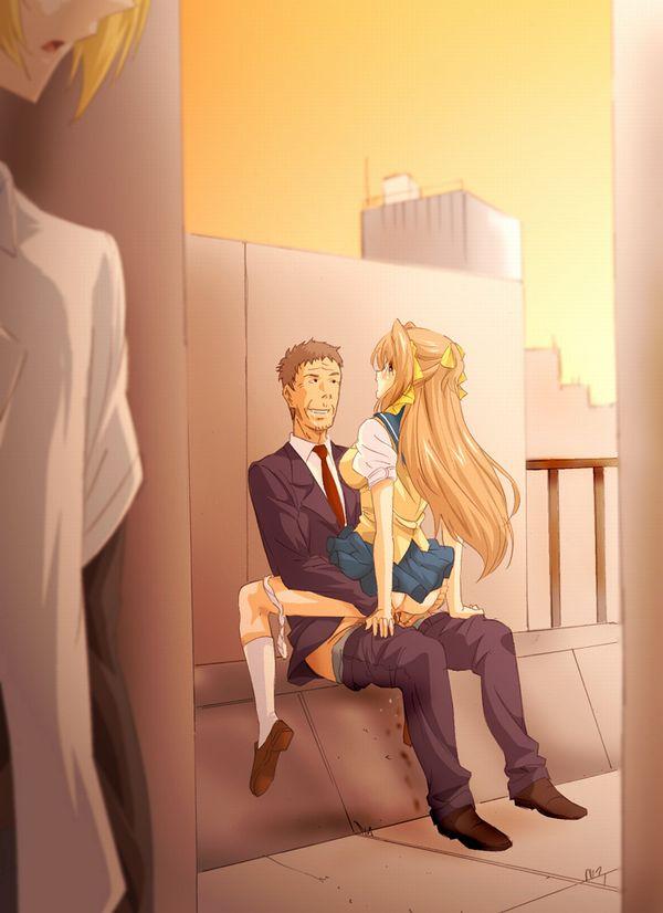 【あそぶんだ、おじさんと!】オッサンと少女が性行為をしている二次エロ画像【13】