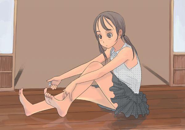 【深爪に注意】爪切りしてる女子達の二次画像【11】
