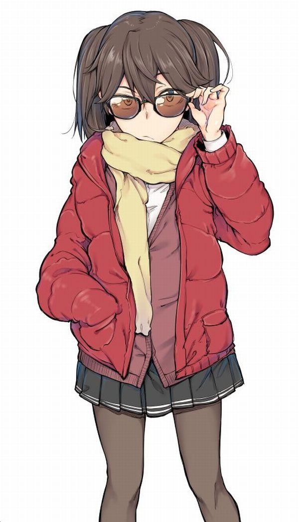 【マンダのりゅうせいぐんは強い】サングラスを掛けた女の子の二次エロ画像【23】