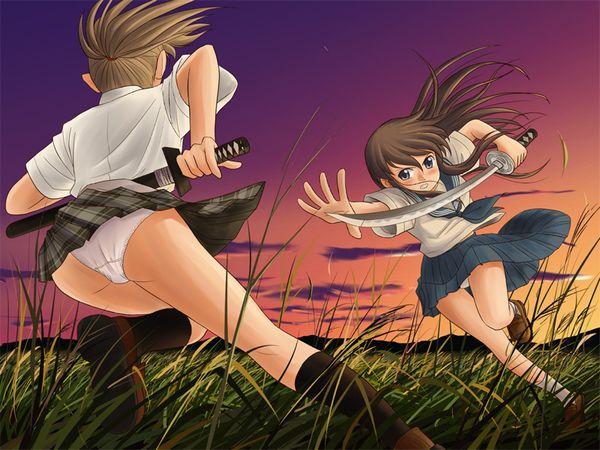 【これはキャットファイトじゃない】ガチでタイマン張ってる女子達の二次エロ画像【16】