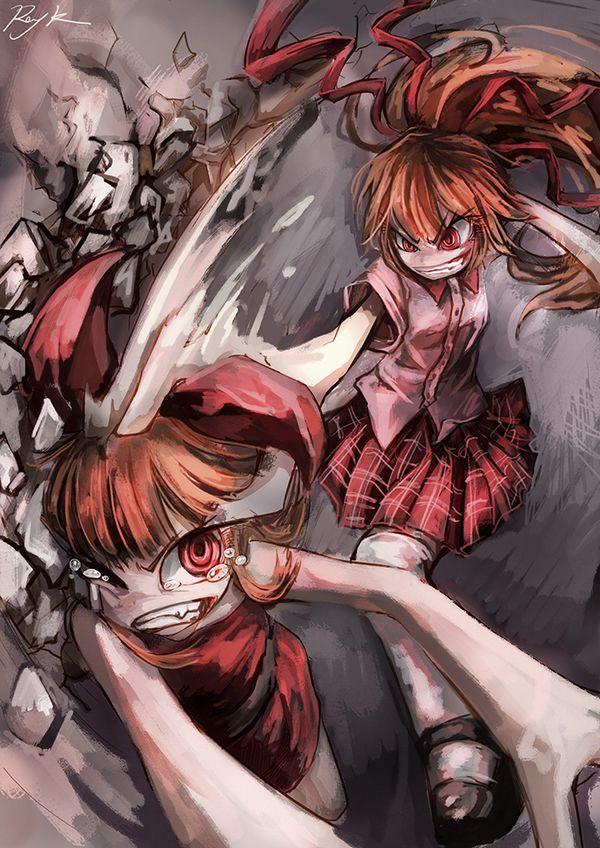 【これはキャットファイトじゃない】ガチでタイマン張ってる女子達の二次エロ画像【19】