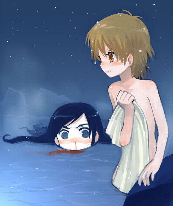 【百合】友人の裸体等に興奮して鼻血を垂らす女子達の二次エロ画像【30】