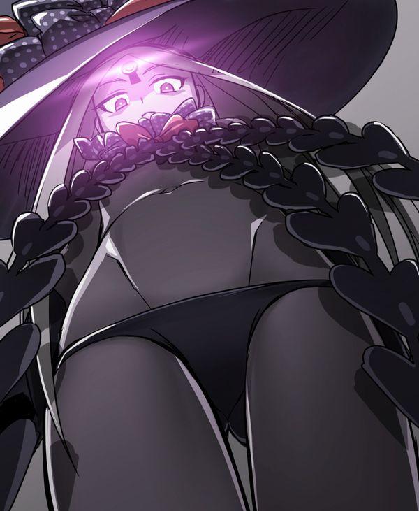 【ゴキブリ系男子目線】女子のパンツを下から見上げる二次エロ画像【36】