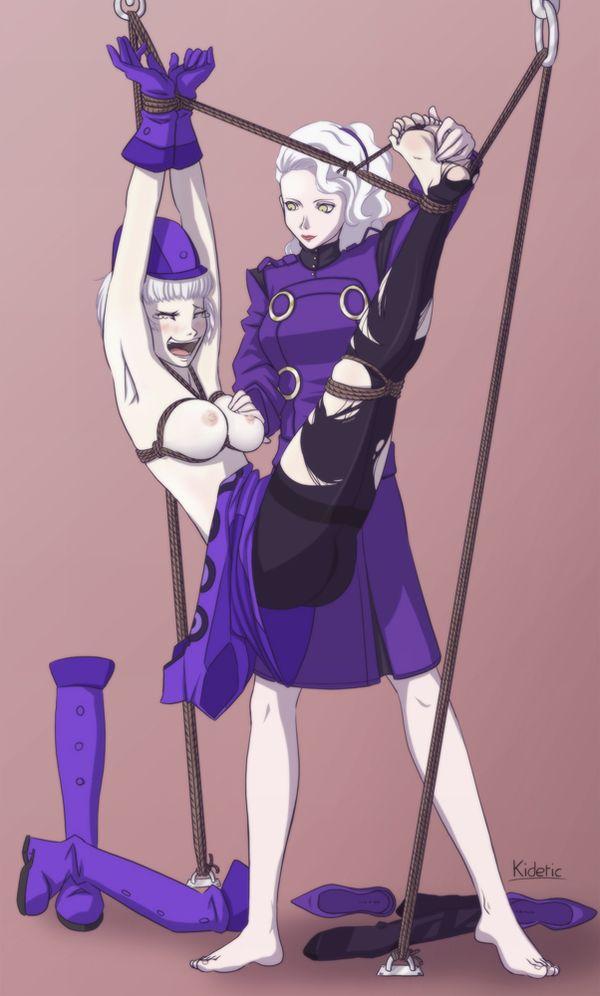 【一種の拷問】拘束されくすぐられている女子達の二次エロ画像【31】
