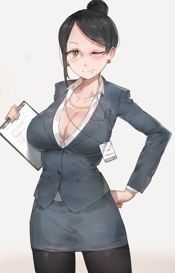 【社外では外すのをお忘れなく】社員証を首から下げてる社会人女性の二次画像【16】